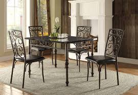 Area Rugs Dallas Tx by Furniture Homelegance Dining Set Metal With Area Rug And Wood