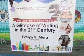themes in literature in the 21st century philippine literature a glimpse of writing in the 21st century