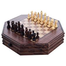 chess and backgammon 27 inch high table free shipping today