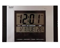 digital clocks amazon in home u0026 kitchen