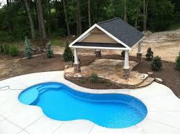 new great lakes in ground fiberglass pool by san juan best 25 fiberglass swimming pools ideas on small