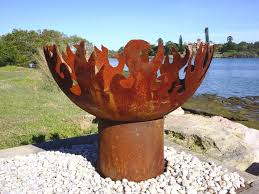 Fire Pit Globe by Unique Fire Pits Bbq Fire Pits Products