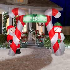 Grinch Blow Up Yard Decoration by Fetching Christmas Decoration Using Outdoor Wooden Christmas Yard