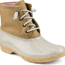 womens sperry duck boots size 9 sperry top sider saltwater duck boot from sperry