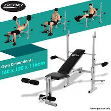 Multi Gym Bench Press Home Gym Weight Station Bench Press Multi Level Crazy Sales