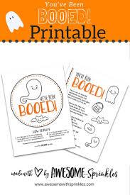Halloween Boo Printables 35 Best Halloween Boo Baskets Images On Pinterest Happy
