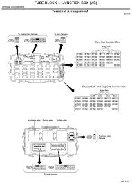 2009 nissan frontier fuse box diagram nissan wiring diagrams for