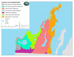 Map Of Michigan Lakes Watershed Planning The Leelanau Conservancythe Leelanau Conservancy