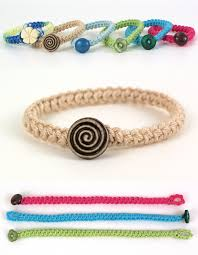 bracelet crochet pattern images Crochet braid bracelet donationware crochet pattern planetjune jpg