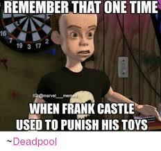 Meme Marvel - remember that one time 16 19 3 17 ig marvel memes when frank castle