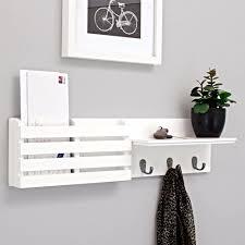 wall mounted mail organizer letter holder key sorter rack hanger
