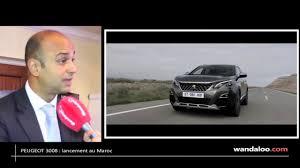 peugeot au lancement du nouveau peugeot 3008 au maroc youtube