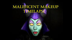 maleficent makeup time lapse youtube