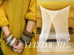 using yellow color to decorate your home