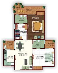 2bhk floor plan ajnara ambrosia floor plans