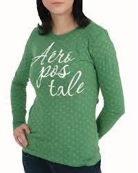aeropostale blouses aéropostale s sleeve t shirt green