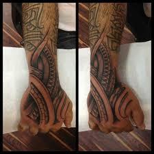polynesian hand tattoo lio