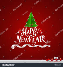 New Year Greetings Decoration merry christmas happy new year greeting stock vector 531792790
