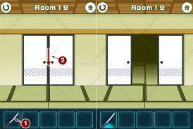 doors y rooms horror escape soluciones 100 fusumas room escape walkthrough iplay my