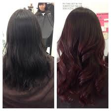 cut before dye hair 37 best hair images on pinterest lounges salons and ombre