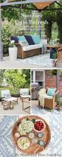 World Market Outdoor Chairs by Summer Patio Refresh Shades Of Blue Interiors