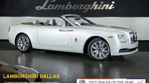 rolls royce white 2016 2016 rolls royce dawn andalusian white lt1035 youtube