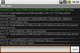 android irc firc android chat client released multigesture net
