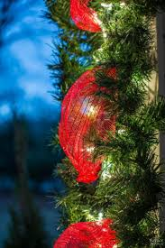 best 25 outdoor christmas garland ideas on pinterest outdoor