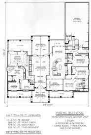 One Story 4 Bedroom House Floor Plans 4 Bedroom House Plans One Story With Basement Room Ideas