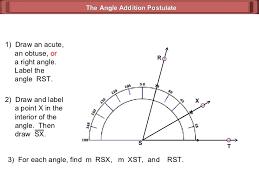 angle addition postulate geometry 3 3