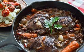 coq cuisine coq au vin chicken in wine hungrysher
