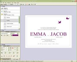 invitation programs new wedding invitation card design software wedding invitation