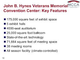 Hynes Convention Center Floor Plan Presented By Milt Herbert Executive Director Ppt Video Online