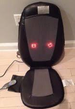 Homedics Chair Back Massager Homedics Extended Track Shiatsu Heat Massaging Chair Cushion