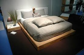 the lax wall mounted headboard and platform bed set