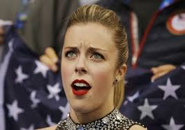 Not Impressed Meme - sochi olympics 2014 ashley wagner meme not impressed with low