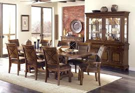 formal dining room sets with china cabinet and buffet oak corner