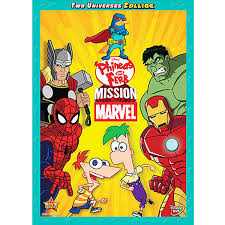 phineas and ferb mission marvel dvd shopdisney