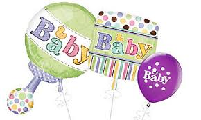 balloon delivery portland or build a bouquet new baby balloons baby shower portland