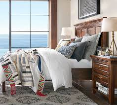 bowry reclaimed wood bed pottery barn