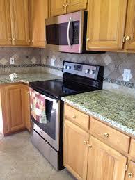 walnut travertine backsplash venetian ice granite with noce travertine backsplash for the