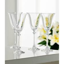 crystal wine glasses galway crystal liberty goblet set of 4 glasses shopcookware ie