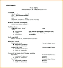 resume template pdf college admissions resume template resume template for college