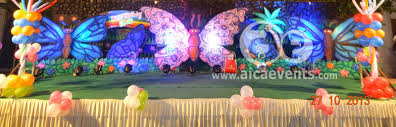 Theme Decoration by Aicaevents Butterfly Theme Birthday Party