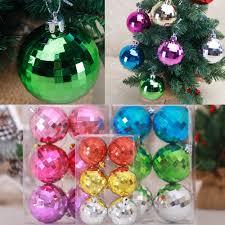 online get cheap party decorations for home aliexpress com 6pcs set christmas balls baubles party christmas decorations for home xmas tree decoration hanging ornament