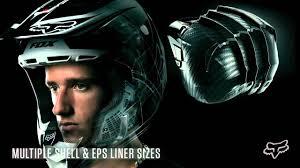 motocross racing helmets 2013 fox racing v4 future motocross helmet review youtube