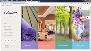 avada lifestyle theme wordpress themes youtube