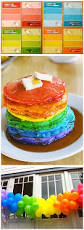 rainbow pancakes ryann got a kick out of these we had a blast