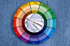 pocket color wheel deluxe 8cm artist paint mixing guide stylist