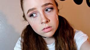 sad cyber makeup tutorial halloween youtube